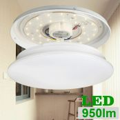 LE 12W LED Flush Mount Ceiling Light,950LM,2700K,Warm White,IP20,for Living Room and Bedroom