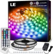 LE 65.6ft RGB LED Strip Lights
