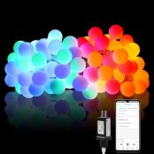 LE RGB Smart Globe String Lights