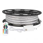 LE 65ft RGB LED Strip Lights with Remote