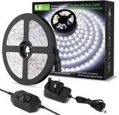 Lighting EVER 32.8ft LED Strip Light, Warm White