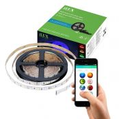 16.4ft 12V iLUX Bluetooth Mesh LED Smart RGB Strip Light