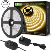 LE 16.4ft Dimmable Strip Kit