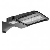 100W LED Parking Lot Light, 11000lm, 250W HPS Equiv, Daylight White, Waterproof, LED Shoebox Area Light, Arm Mounting Way