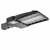 100W 11000lm Daylight White LED Parking Lot Shoebox Light with Slip Fitter, 250W HPS Equiv
