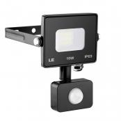 10W 800lm 5000K Super Bright LED Motion Sensor Flood Light, 75W HPSL Equivalent