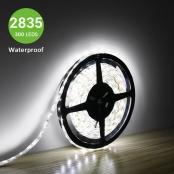 300 Units 3528 LEDs, LED Tape, 16.4Ft 5M Spool