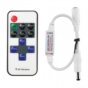Mini Remote Controller for Single Color LED Strip Lights