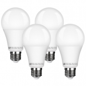 Pack of 4 Units, 15W A21 E26 LED Lamp, Warm White, 1500lm Dimmable lamp, 2700K LED Light Bulb