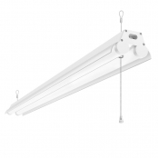LE LED Linear Flush Mount Ceiling Light, 4FT Utility Shop Light, 34W 3600 Lumens, 5000K Daylight White, ETL FCC Certified, Fits for Garage, Workbench Warehouses, Barns, Factory and More, Pack of 4