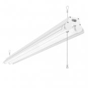 LE LED Linear Flush Mount Ceiling Light, 4FT Utility Shop Light, 34W 3600 Lumens, 5000K Daylight White, ETL FCC Certified, Fits for Garage, Workbench Warehouses, Barns, Factory and More, Pack of 4
