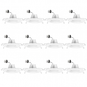 LE 12 Pack 6-Inch Daylight White LED Downlight