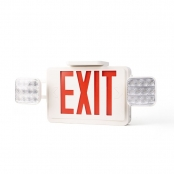 4.2W LED Exit Sign, Daylight White Emergency Light, 6000K, UL Certified