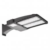 200W LED Parking Lot Light, 22100lm, 400W HPS Equiv, Daylight White, Waterproof, LED Shoebox Area Light, Arm Mounting Way