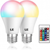 LE Color Changing Light Bulbs with Remote