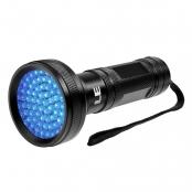 68 LEDs UV Flashlight With Holder