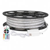 LE 49ft RGB LED Strip Lights, 120V 110V