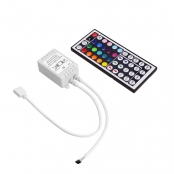 44 Key Remote Controller of RGB LED Strip, LED Ribbon Light, Static, Flash, Strobe and Fade Features