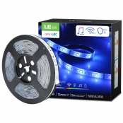 16ft RGB Smart LED Strip Lights with Remote
