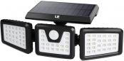 Solar Lights Outdoor, Motion Sensor Security Lights, 3 Adjustable Head 70 LED 270° Wide Angle, Waterproof Wireless Wall Lights for Porch Yard Garage Pathway and More