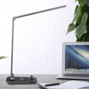 500lm black desk lamp