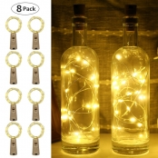 LE Wine Bottle Lights 20 LEDs, 2M