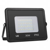 LE Outdoor LED Flood Light, IP65 Waterproof, 30W 2400LM, 75W HPS Equivalent, Daylight White 5000K, 100 Degree Beam Angle, Security Light for Home, Backyard, Patio, Garden, Tree and More