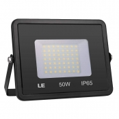 LE Outdoor LED Flood Light, IP65 Waterproof, 50W 4000LM, 150W HPS Equivalent, Daylight White 5000K, 100 Degree Beam Angle, Security Light for Home, Backyard, Patio, Garden, Tree and More