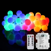 LE Globe String Lights RGB