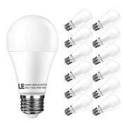 A19 1050lm 2700K LED Bulbs, E26 Medium Base, Replaced 5W Incandescent Bulbs