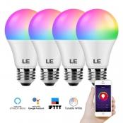 LE WiFi Smart Light Bulbs Works with Alexa