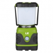 1000lm LED Lantern,  4 Modes, Battery Powered, Water Resistant, Home, Garden and Camping Lanterns