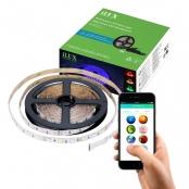 16.4ft 12V iLUX Bluetooth Mesh LED Smart RGB Strip Light