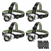 IP44 Headlamp For Running, Hiking, Camping, Fishing, Hunting