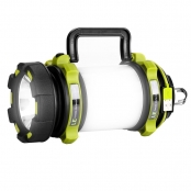 LED Spotlight, USB Rechargeable Camping Lantern, LED Dimmable Searchlight, Water Resistant