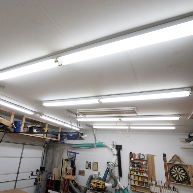 LED Shop Lights for Basement
