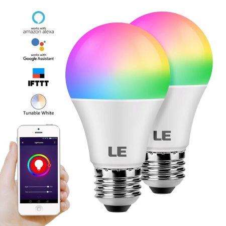 LE WiFi Smart Light Bulb Works with Alexa | LE®