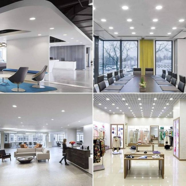 led recessed lights for room