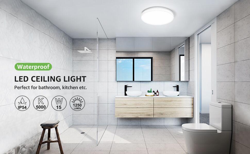 15w daylight white led ceiling light