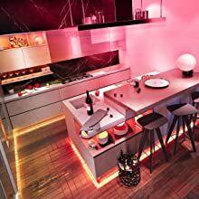 5m led tape lights for kitchen