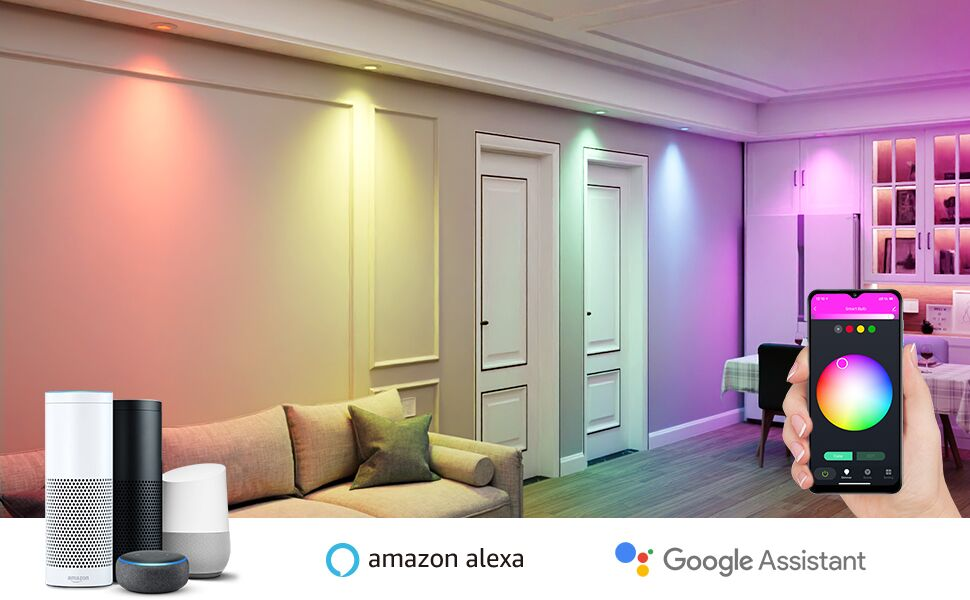 RGB Color Changing LED Bulb