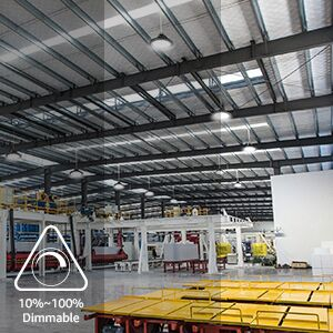Dimmable 100W high bay light