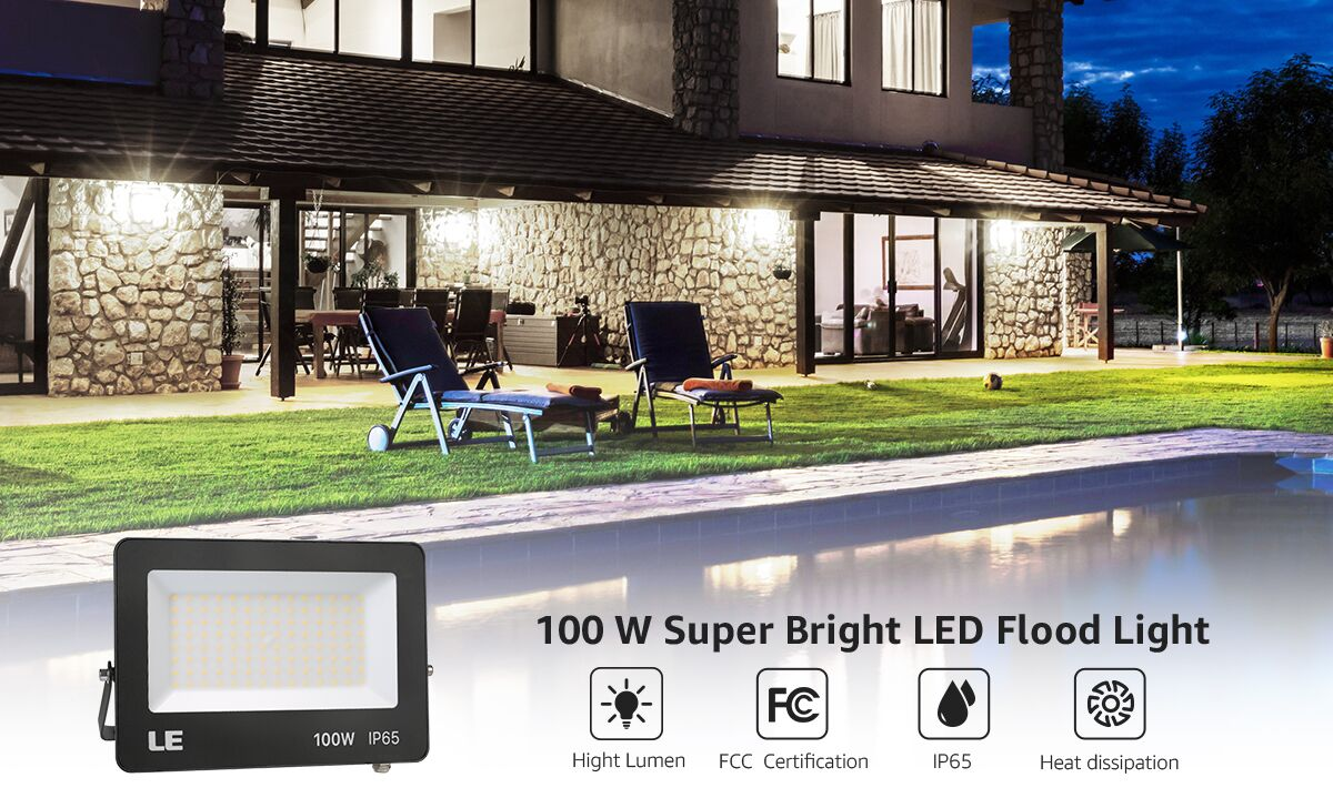 100W Outdoor LED Flood Lights