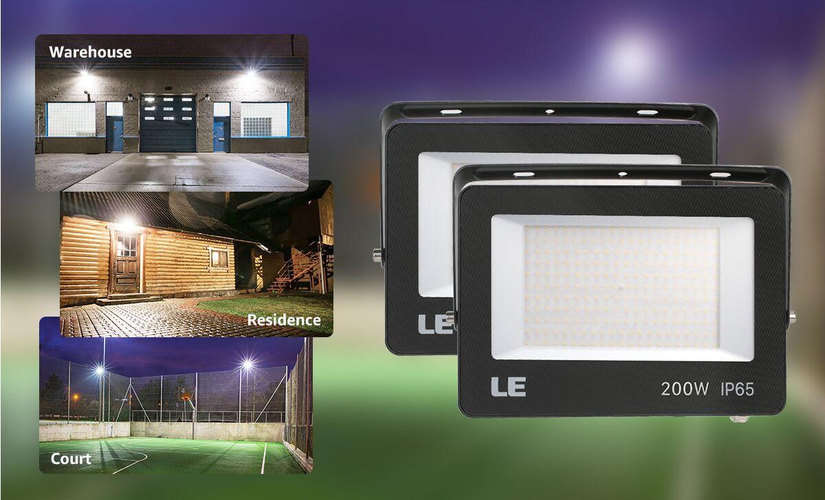 LED flood light Application
