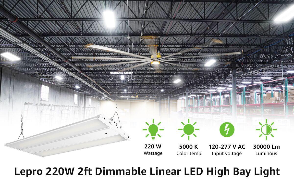Lepro linear high bay light