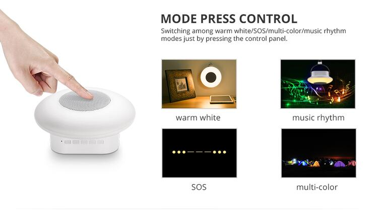 Rechargeable RGB LED Bedside Table Lamp