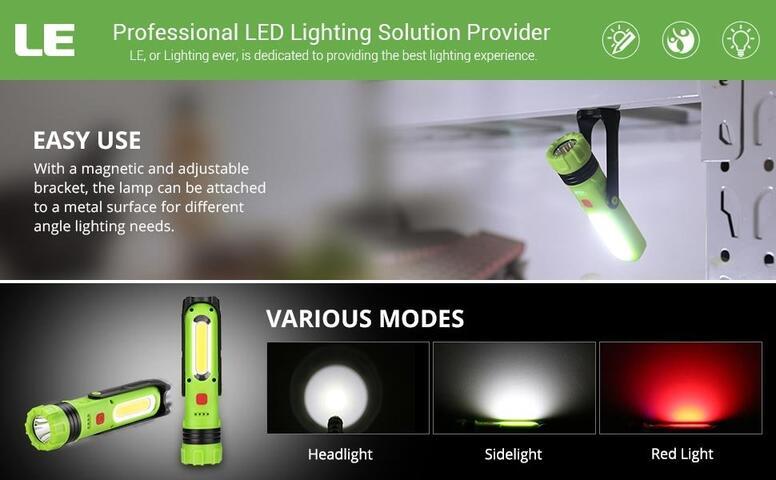 dimmable cob led flashlight