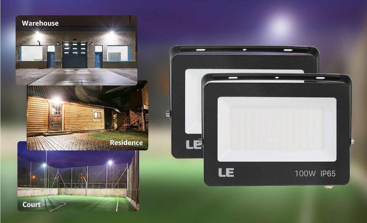 LED shoebox light Application