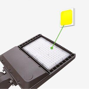 bright led parking lot light