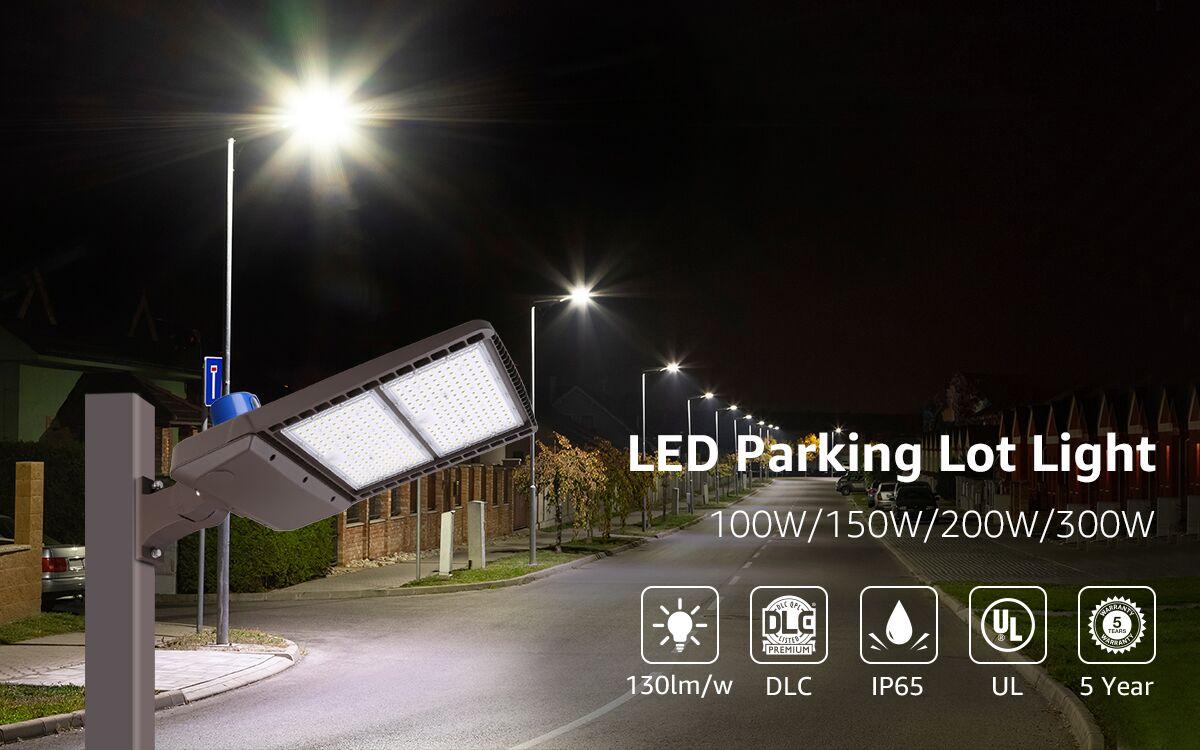 Lepro LED parking lot light 200W